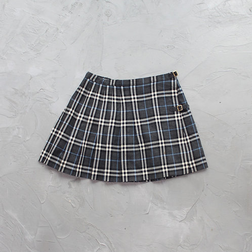 Burberry Check Pleated Skirt - W28