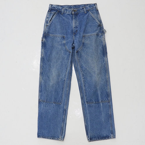 1980s Carhartt Double Knee Washed Jeans - W32
