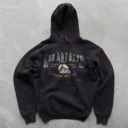 1994 Vintage NFL Los Angeles Rams Hoodie - Size L