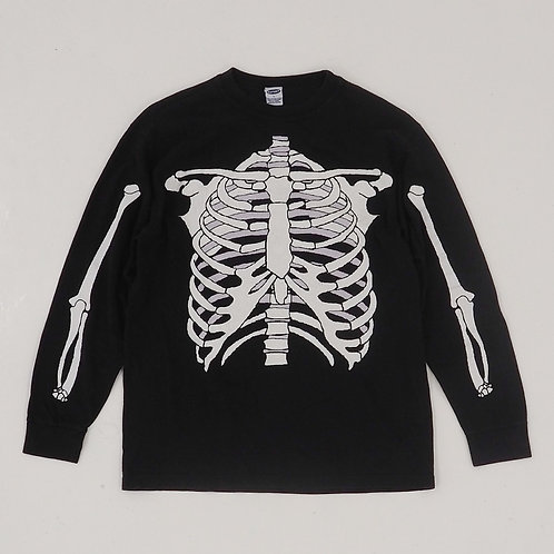 Old Navy Skeleton Graphic Long Sleeve Tee - Size S