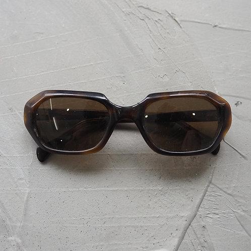 1990s Vintage Hexagonal Sunglasses - Size OS