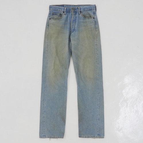 1990s Levi's 501 Distressed Jeans - W29