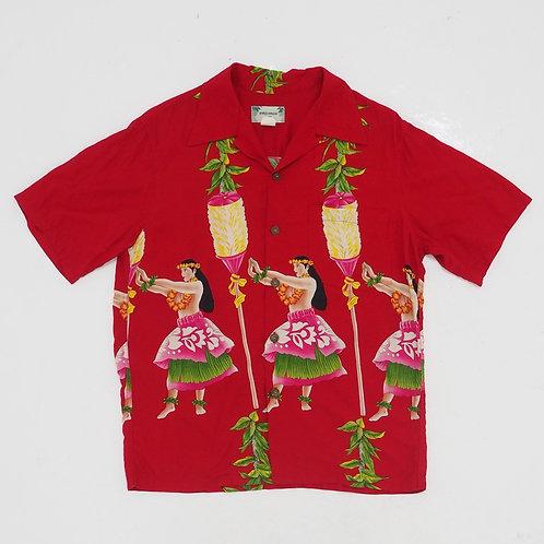 1970s Kamehameha Hawaiian Shirt - Size S