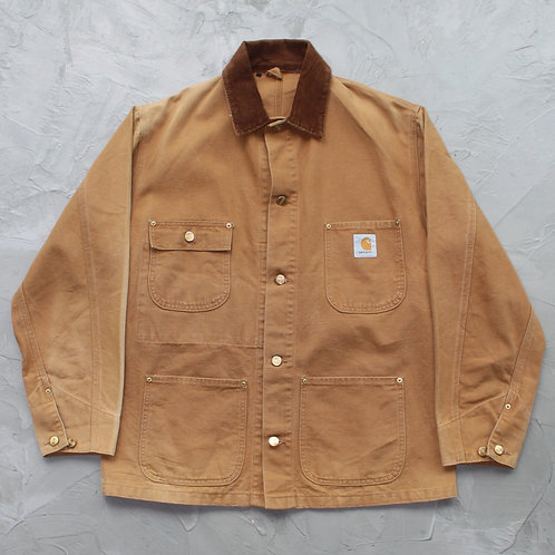 Carhartt Chore Jacket (Duck Brown) - Size L
