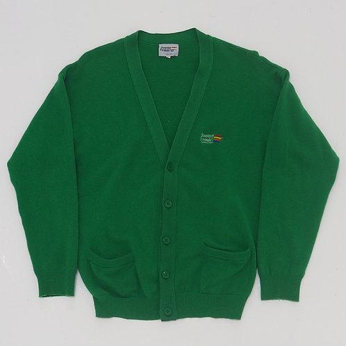 Benetton Formula 1 Distressed Cardigan - Size L