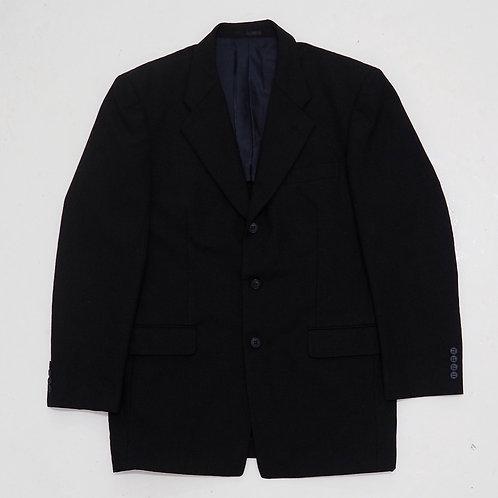 City York Black Checkered Blazer - Size XL