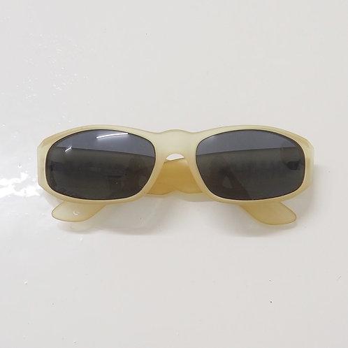 1990s Diablo NOS Transparent (Matte) Wraparound Sunglasses - Size OS