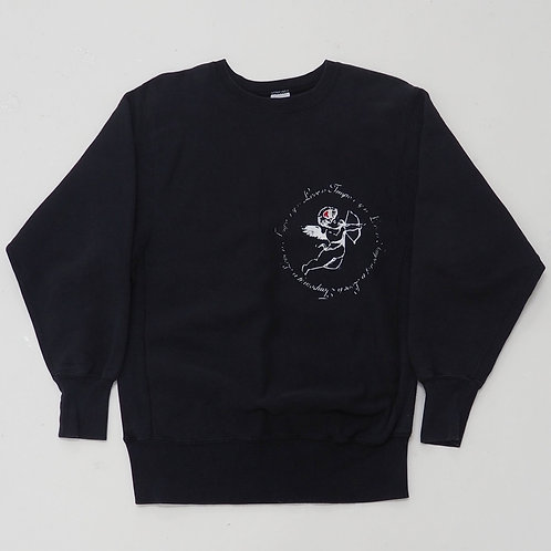 TEMPORARY 1 of 1 Hand-printed Sweatshirt - Size L