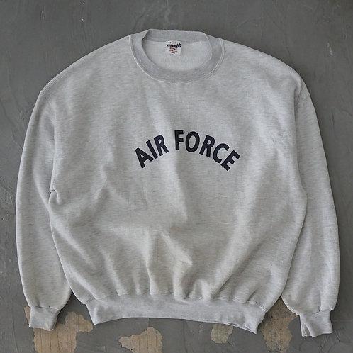 1990s Jerzees 'AIR FORCE' Sweatshirt - Size 2XL
