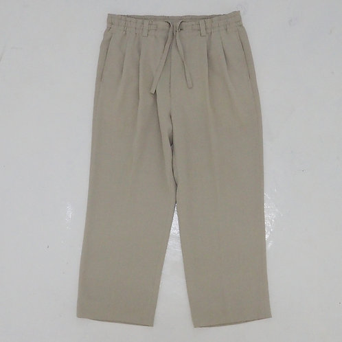 Double Pleated Relaxed Pants - Size L
