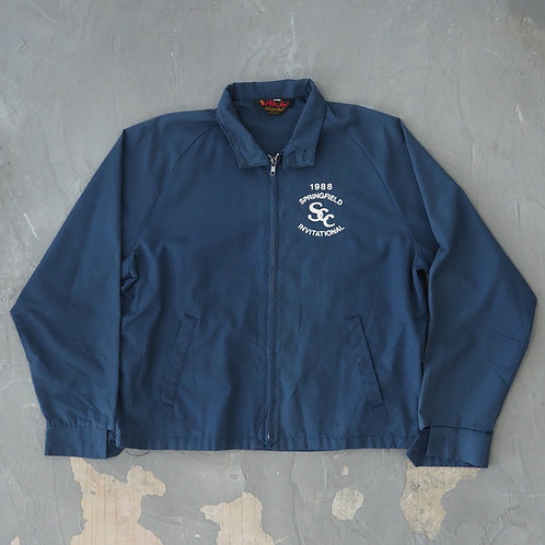 1988 'Springfield Invitational' Sun Faded Harrington Jacket - Size L