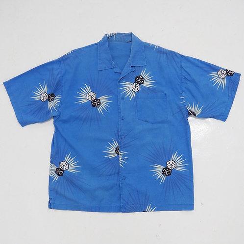 """""""Smashing Dices"""" Open Collar Shirt - Size 2XL"""