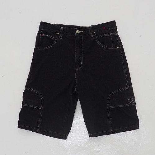1990s Fubu Denim Cargo Shorts - W32