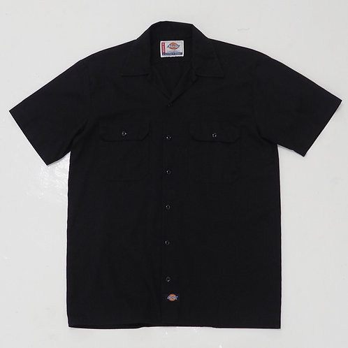 Dickies Button Down Work Shirt - Size L