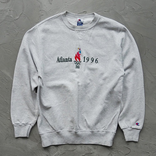 1990s Vintage Champion Sweatwhirt (1996 Atlanta Olympics) - Size M