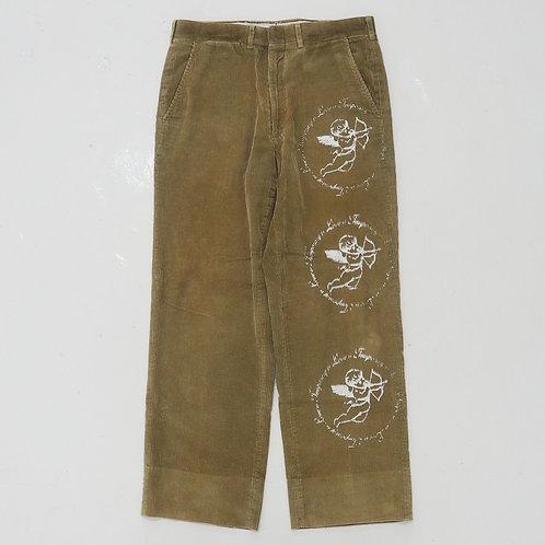 TEMPORARY 1 of 1 Hand-printed Corduroy Pants - W32