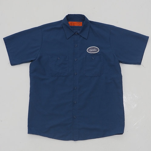 Red Kap 'Geek' Work Shirt - Size L