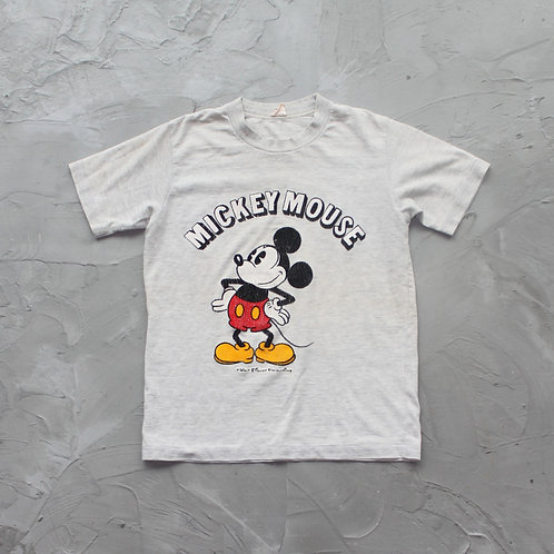 Vintage Mickey Mouse Graphic Tee - Size XS