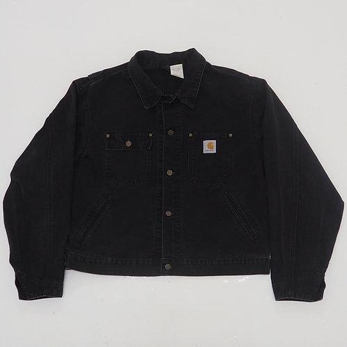 1980s Carhartt Worn Denim Jacket - Size XL