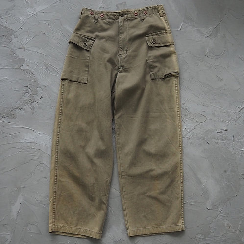 P44 Military Cargo Pants (Olive) - W30