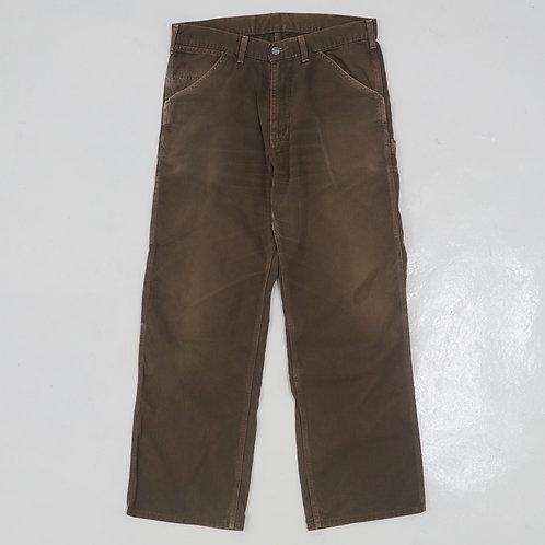 Carhartt Faded Carpenters Pants - W34