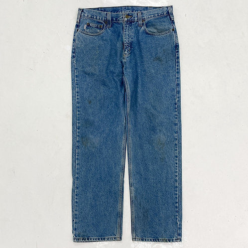 Carhartt Relaxed Washed Jeans - W35
