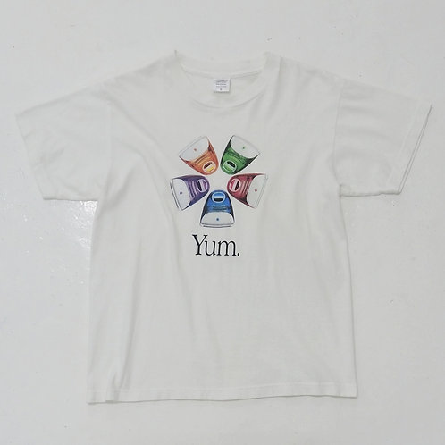 Apple 'Yum' Graphic Tee - Size S
