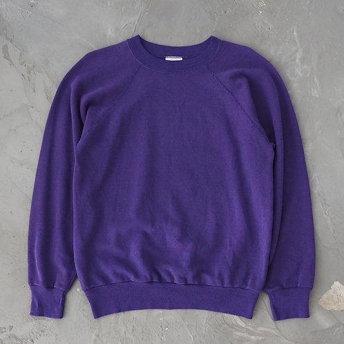 1980s Vintage Steinwurtzel Purple Sweatshirt - Size M