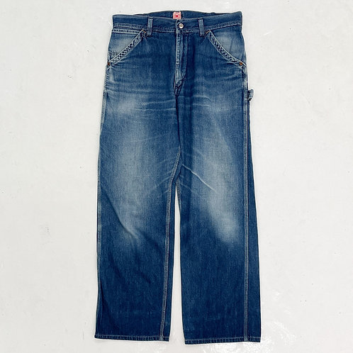 Edwin 101 Washed Carpenter Jeans (Mid) - W32