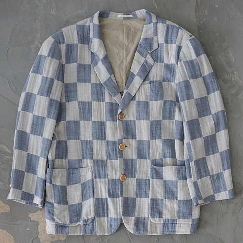 Kro Fo Fro Checkerboard Blazer - Size L