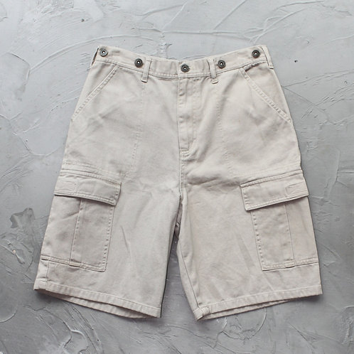 Khaki Cargo Shorts - W29