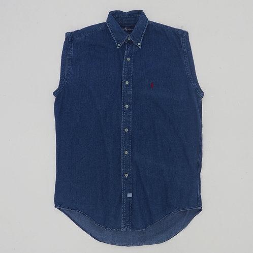 Polo by Ralph Lauren Denim Sleeveless Shirt - Size M