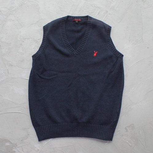 Playboy Knitted Vest - Size L