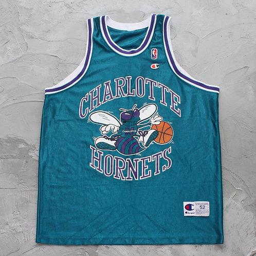 1990s Vintage NBA Charlotte Hornets Jersey - Size XL