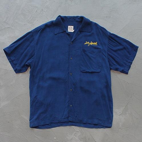 'Recipro Shop' Open Collar Shirt - Size L