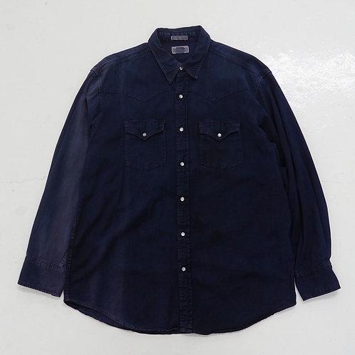 Sun Faded Edwin Western Shirt - Size XL
