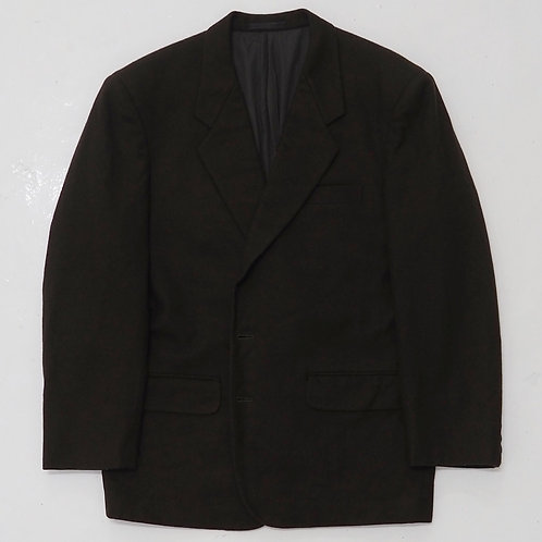 Comme des Garcons Homme Dark Brown Single Breasted Blazer - Size M