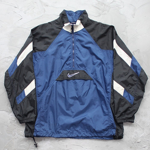 1990s Vintage Nike Half Zipped Anorak - Size XL