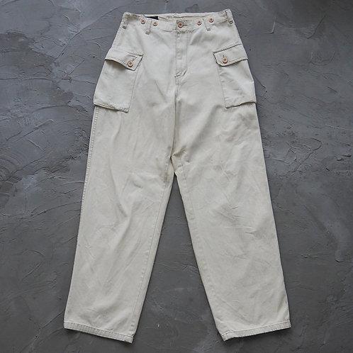P44 Military Cargo Pants (Cream) - W32