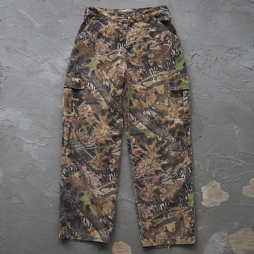 Mossy Oak Real Tree Camouflage Cargo Pants - Size M