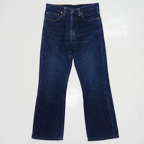 1990s Levi's 517 Bootcut Rinse Washed Jeans - W30