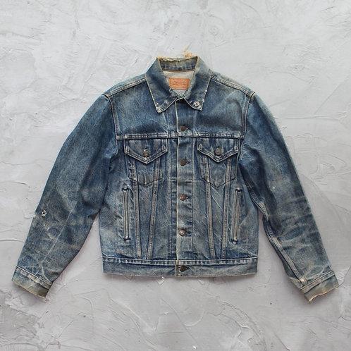 Levi's Distressed Denim Jacket - Size L