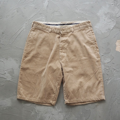 Polo by Ralph Lauren Corduroy Shorts (Beige) - W35