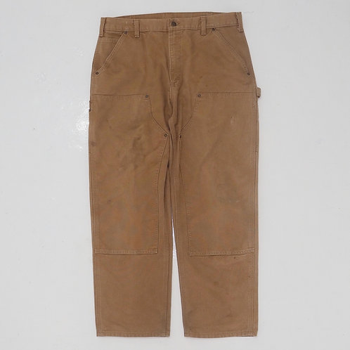 Carhartt Washed Duck Double Knee Carpenter Pants - W36