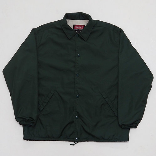 Coleman Forest Green Coach Jacket - Size L
