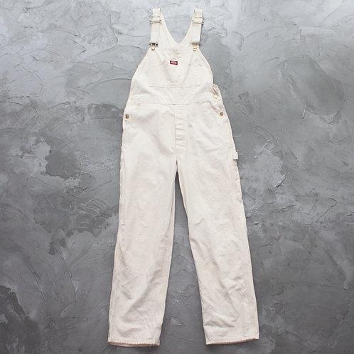 1990s Dickies Bib Overall (Cream) - W34