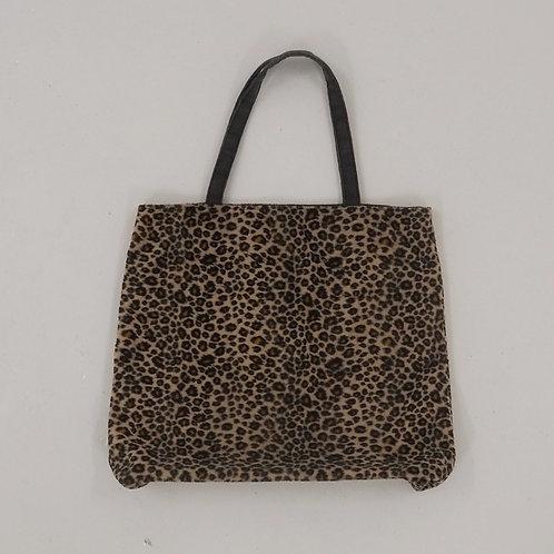 Leopard Print Tote Bag - Size OS
