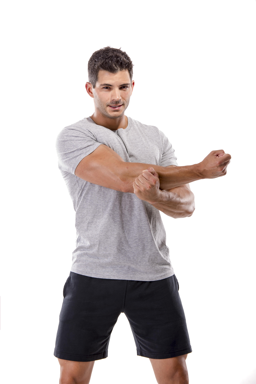 Upper back,shoulder stretch
