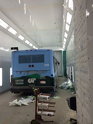 Paint, Paint booth, ccta, gmt, specialty, bus, public transportation, transit