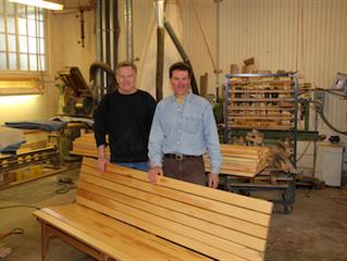 Green Craftsmanship: New Building Installations Center Around Champlain College's Natural Histor
